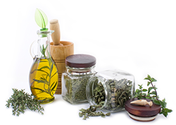 different essential aromatherapy oils