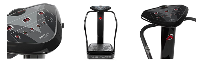 Axis-Plate Whole Body Vibration Machine