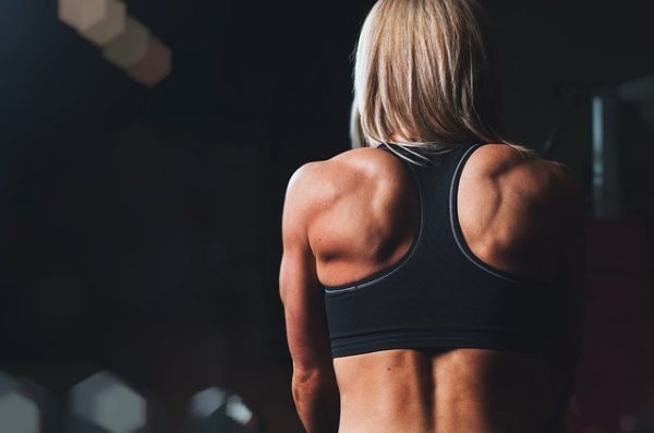 back of a woman