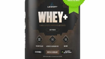 legion whey protein for men