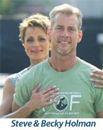 Steve Holman & Becky Holman founders of old school new body