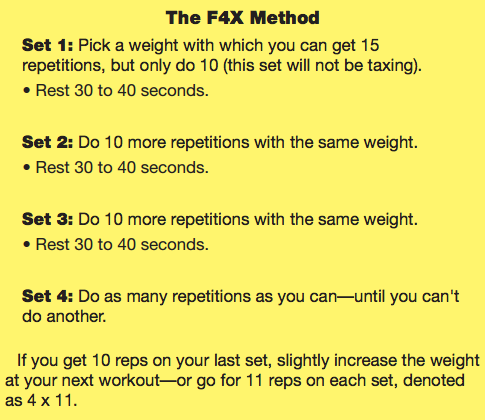 old school new body f4x exercises explanation