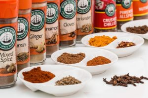 the cruise control diet food list - spices