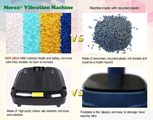merax whole body vibration vs other machine