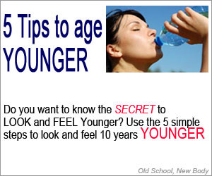 5 steps to reduce aging