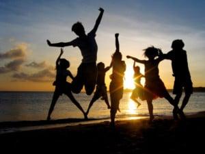 happy-people- beach