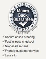 beachbody money back guarantee