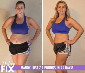 mothers love results from the 21 day fix