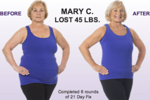 21 day fix for older women
