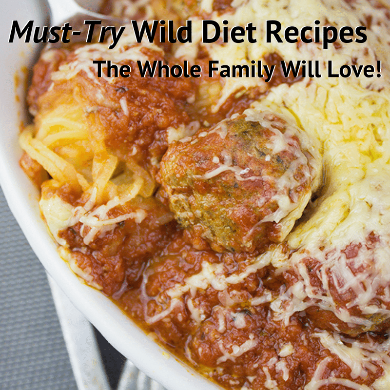 wild diet recipes