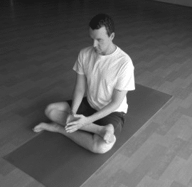 hip flexor stretch - square pose