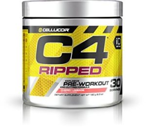 Cellucor C4 Ripped Pre Workout Powder + Fat Burner
