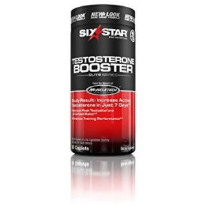 Six Star Testosterone Booster Supplement, Extreme Strength Testosterone