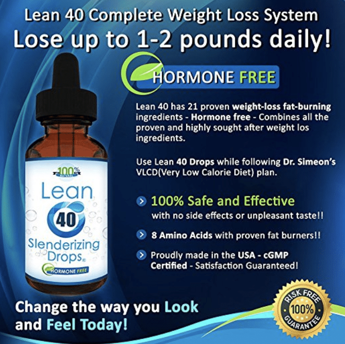 lean 40 slenderizing hcg drops