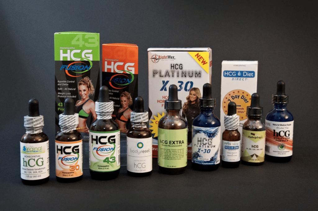 hcg drops brands