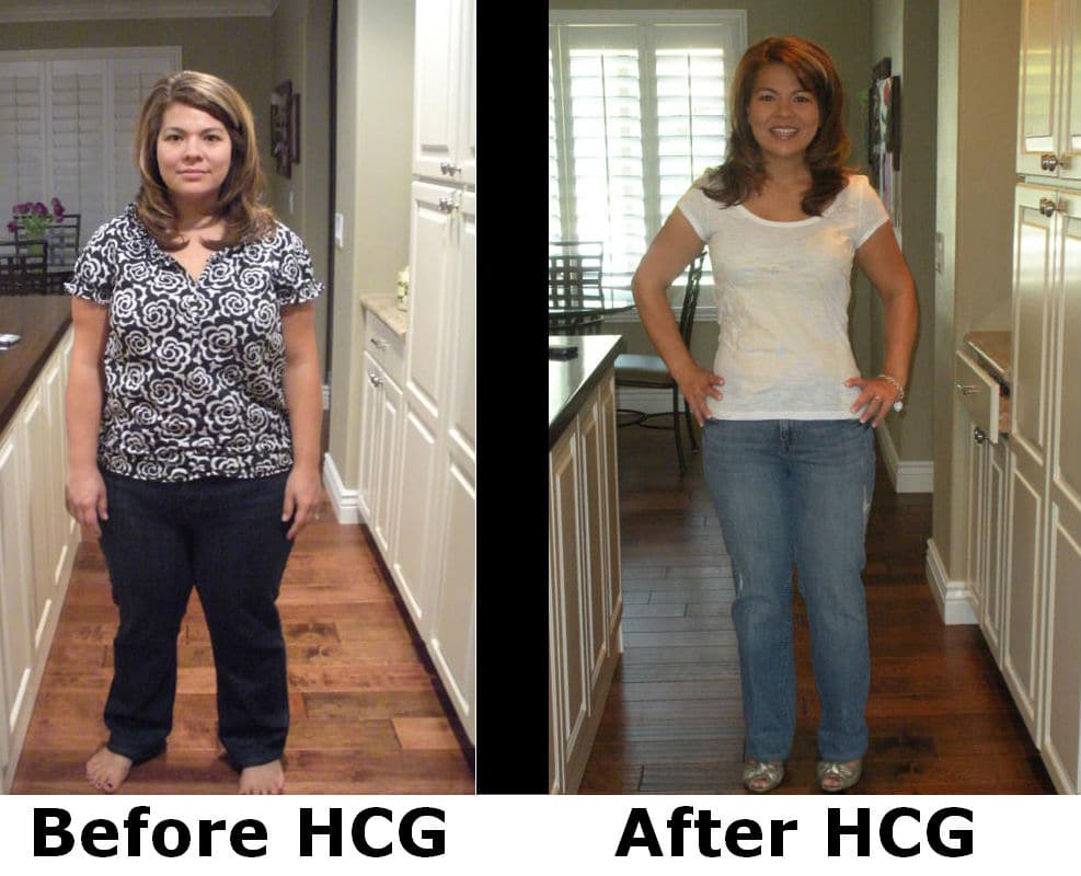 results from hcg drops