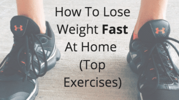 how to lose weight fast at home