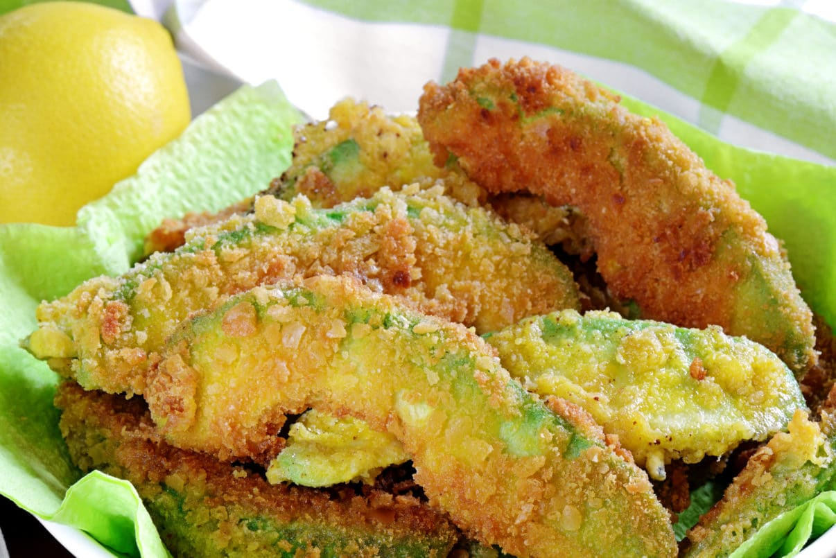 vegan avocado fries