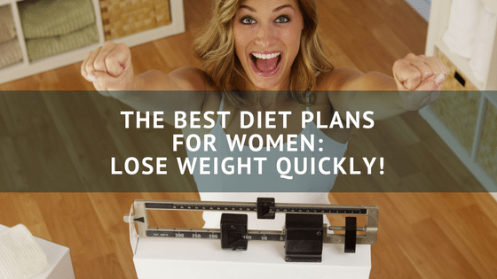 women losing weight because of her diet plan