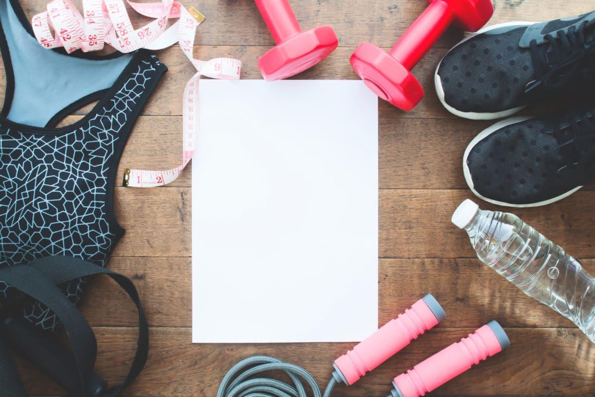 Creating fitness goals