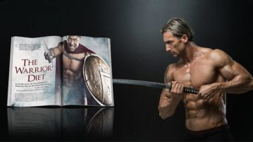 man doing warrior diet